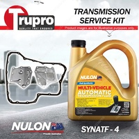 Nulon SYNATF Transmission Oil + Filter Service Kit for Nissan Tiida C11 1.8 Thai