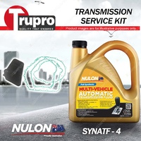 Nulon SYNATF Transmission Oil + Filter Service Kit for Audi A4 1.8L - 3.2L 03-08