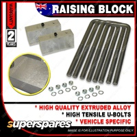 "Rear 2"" 50mm Lift Kit Raising Block for TOYOTA Hilux YN LN RN 65 67 105 106 107"