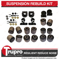 Front + Rear Full Suspension Bush Kit Toyota Landcruiser 80 105 Series 1990-2006