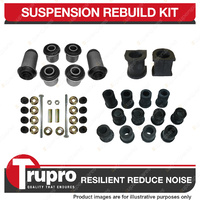 Front + Rear Full Suspension Bushes Kit Complete for Ford Courier 2WD 1998-2005