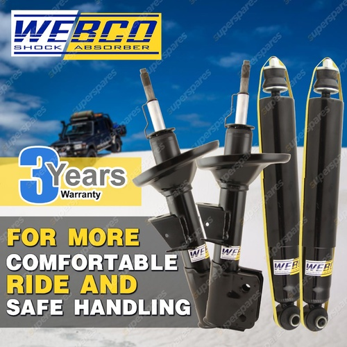 F + R Webco Elite Shock Absorber For HYUNDAI SANTA FE 2.7 3.3 CM 3.5 V6 2.2 CRDi